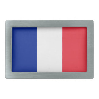 France Flag Belt Buckle