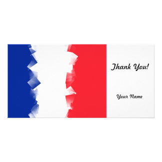 France Flag Cubic Photo Cards