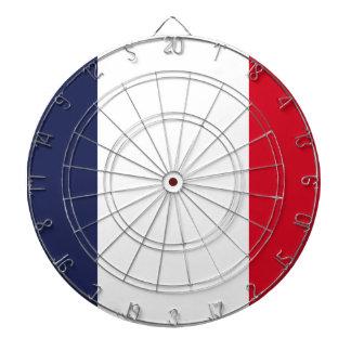 France flag dartboard