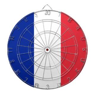France Flag Dartboard With Darts