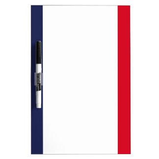 France flag dry erase board