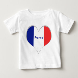 France flag French tricolore T-shirts