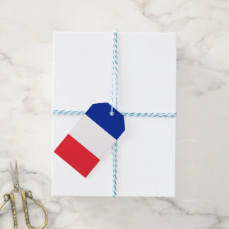 France Flag Gift Tags