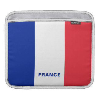 France Flag iPad Sleeves