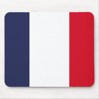 France flag mouse pad