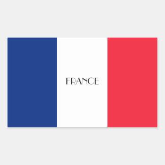 FRANCE: Flag of France Sticker