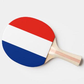 France Flag Ping-Pong Paddle