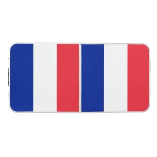 France Flag Pong Table
