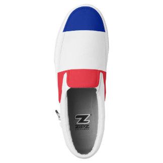 France Flag Slip On Shoes