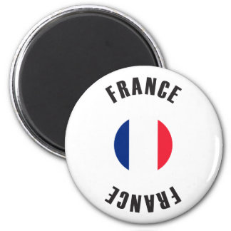 France Flag Wheel Magnet