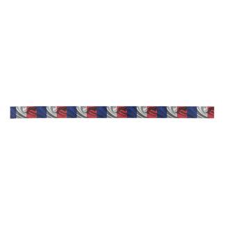 France Flag Satin Ribbon