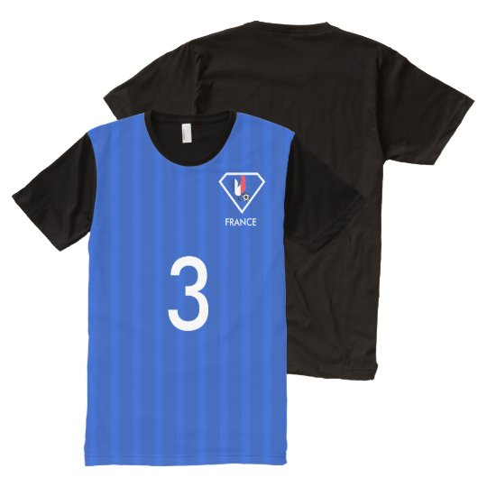 France football  t-shirt soccer