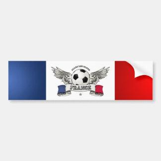 France Football Team Supporter bumper sticker