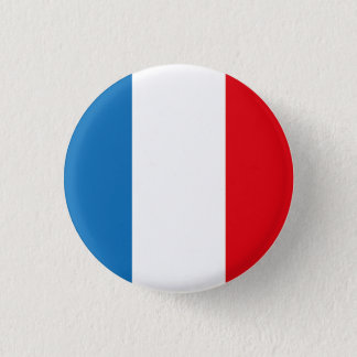 FRANCE French Flag Pine Short prop Swipes in 1 Inch Round Button