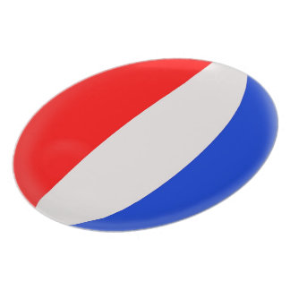 France French Flag Plate