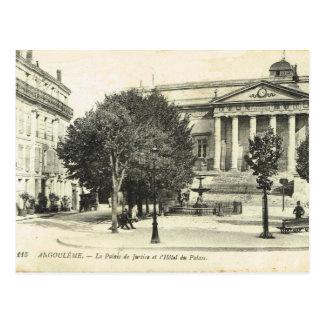 France, French Vintage, Angouleme, Palais de Justi Postcard