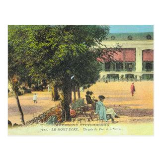 France, French Vintage, Auvergne, Mont Dore, Postcard