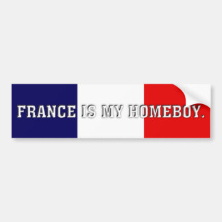 France homeboy bumper sticker