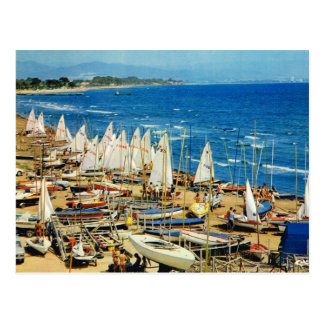 France, Hyeres, Var, Port and Marina Postcard