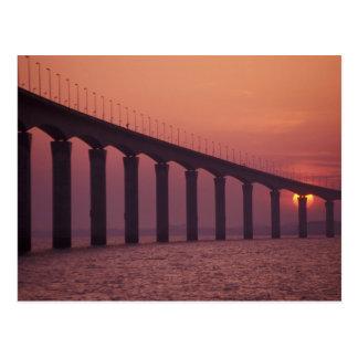 France, Ile de Re, St. Martin. Le Pont de Postcard
