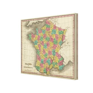 France, in Departments Canvas Print