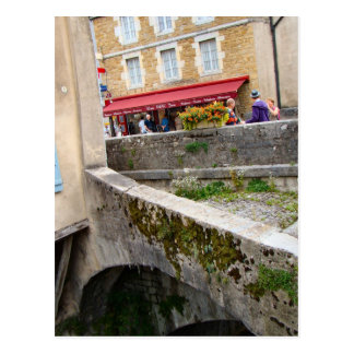France Jura Arbois ancient pedistrian bridge Post Card