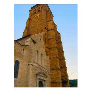 France Jura Arbois Church by the chateau Postcards