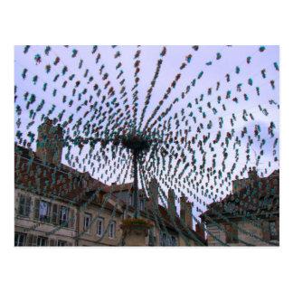 France Jura Arbois Decorations wine festival 1 Post Card