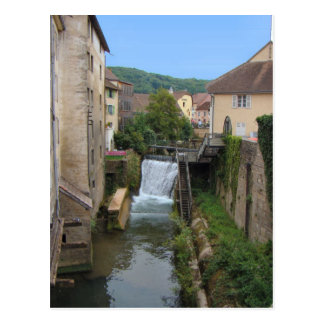 France Jura Arbois Houses by the mill race Post Cards