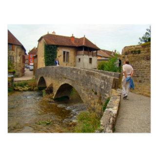 France Jura Arbois tBridge over the river Post Cards