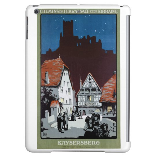 France Kaysersberg Restored Vintage Travel Poster iPad Air Case