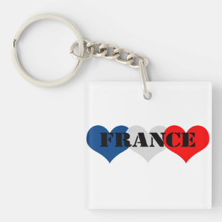 France Keychain