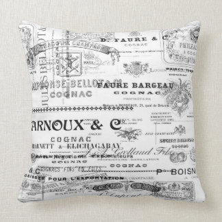 France Labels Pillow