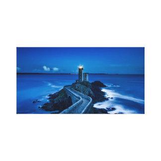 France lighthouse canvas
