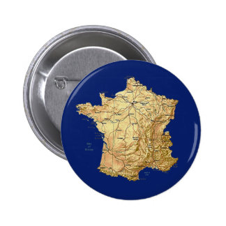 France Map Button