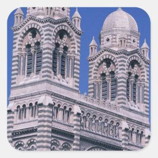 France, Marseille, Provence. Cathedral de la Square Sticker