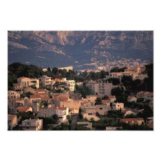France, Marseille, Provence. Southern suburbs Photo Art