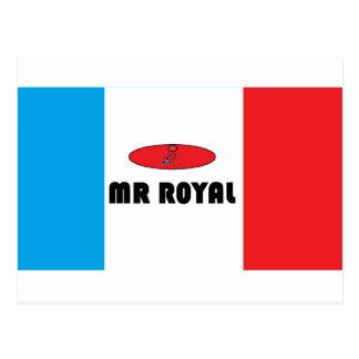 France Mr.-Royal Postcard