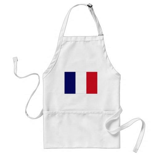 France National Flag Aprons