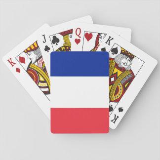 France National World Flag Poker Deck