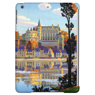 France Orleans Restored Vintage Travel Poster iPad Air Cover