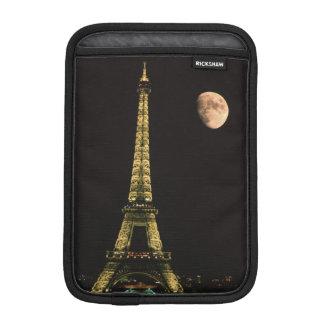 France, Paris. Eiffel Tower at night with iPad Mini Sleeves