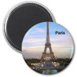 France Paris Eiffel Tower (by St.K) Fridge Magnets