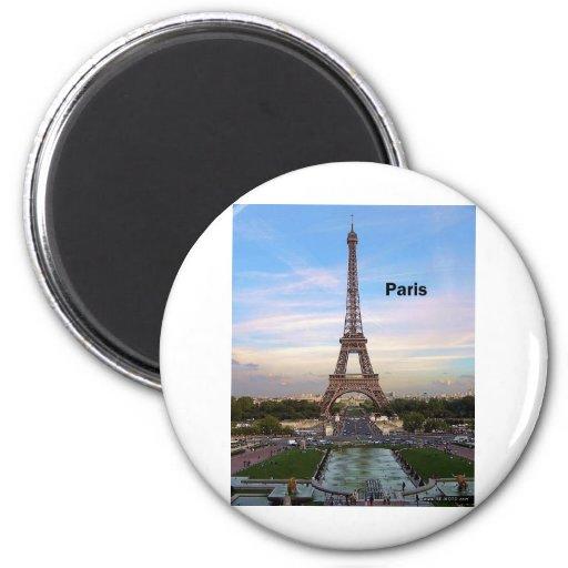 France Paris Eiffel Tower (by St.K) Magnets