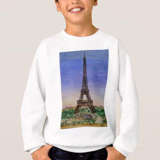 france-paris-eiffel-tower-clothes sweatshirt