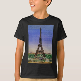 france-paris-eiffel-tower-clothes T-Shirt