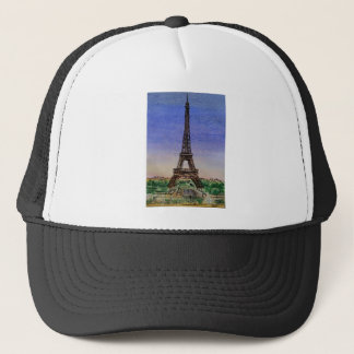 france-paris-eiffel-tower-clothes trucker hat