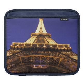 FRANCE, Paris Eiffel Tower, evening view iPad Sleeve