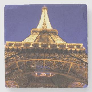 FRANCE, Paris Eiffel Tower, evening view Stone Beverage Coaster