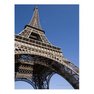 France, Paris, Eiffel Tower, low angle view Postcard